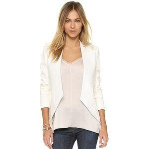 BLAQUE LABEL Sculpted White Vanessa Jacket Sz M